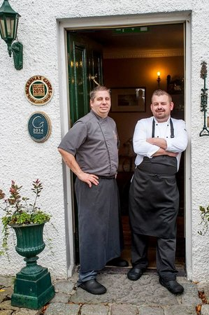 Ghan Houses' chefs, Stephane & Allan