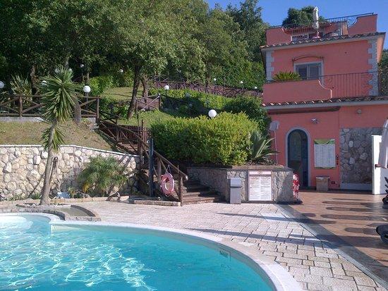 Hotel Prestige Sorrento : Pool side view