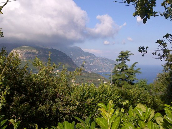 Hotel Prestige Sorrento : view from the hill