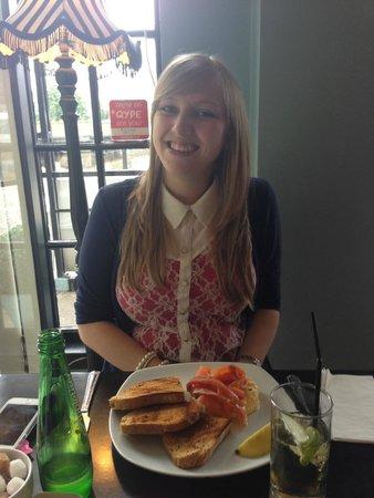 Mimi's Bakehouse: Salmon Scrambled Eggs and Toast