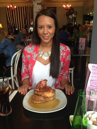 Mimi's Bakehouse: French Toast with Bacon and Maple Syrup