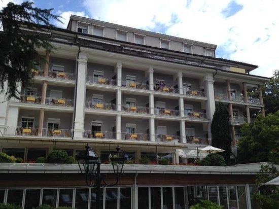"""Hotel Meranerhof: Meranerhof from the """"back side"""""""