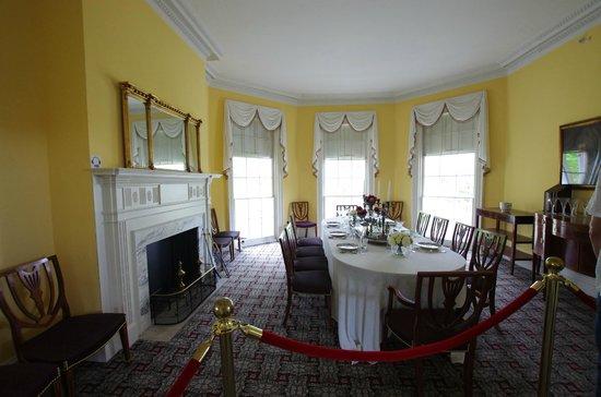 Hamilton Grange National Memorial: Dining Room