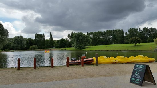 Hemsworth Water Park Car Park