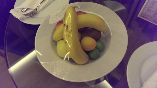 WOW Istanbul Hotel: welcome fruits