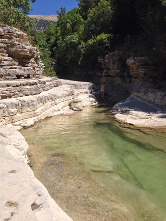 Papigko, Greece: cool water!