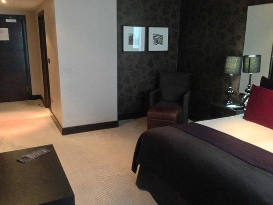 Malmaison Birmingham: spacious bedroom area