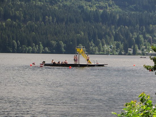 Titisee: bagno!