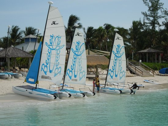 Beaches Turks and Caicos Resort Villages and Spa : Hobie Cats free to use all day.