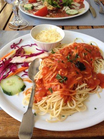 Les Arcades : Spaghetti napolitaines