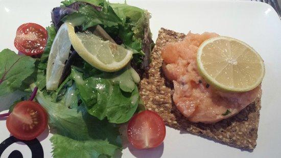 Les Chaises : tartare di salmone