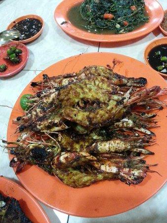 212 Wiro Sableng : Grilled jumbo prawns