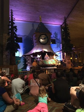 Great Wolf Lodge Grapevine : Animatronic Characters