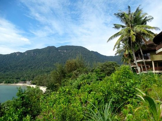 Damai Beach Resort : vue
