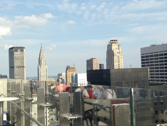 Hyatt Times Square New York: view from sky lounge