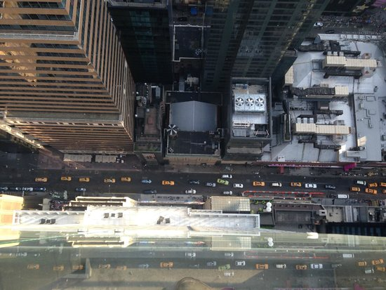 Hyatt Times Square New York : view from sky lounge