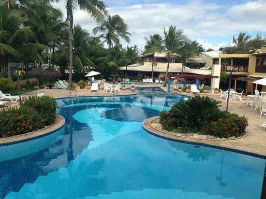 Portobello Praia Hotels and Resorts : area piscina