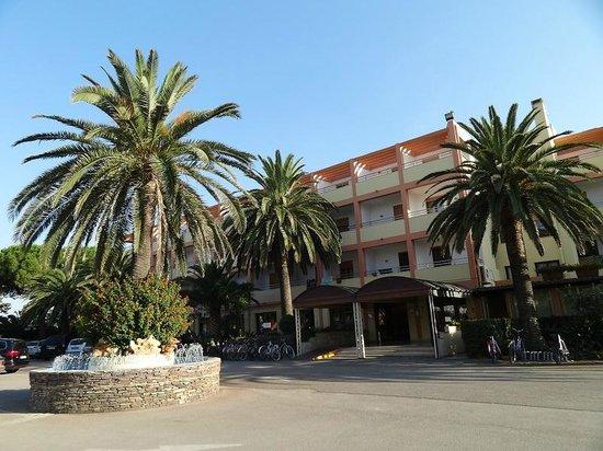 Hotel Oasis: entrada hotel