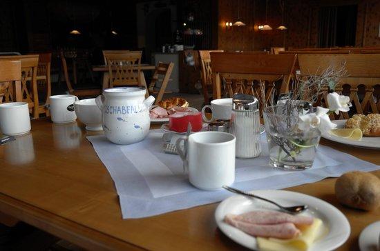 Landhotel & BergGasthof Panorama : Завтрак