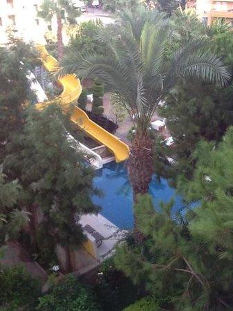 """Erkaptan Apart Hotel: view of the """"small"""" pool"""