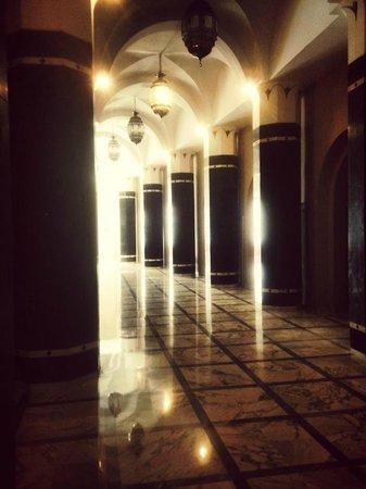 Tej Marhaba Hotel : Corridor of Tej Marhaba