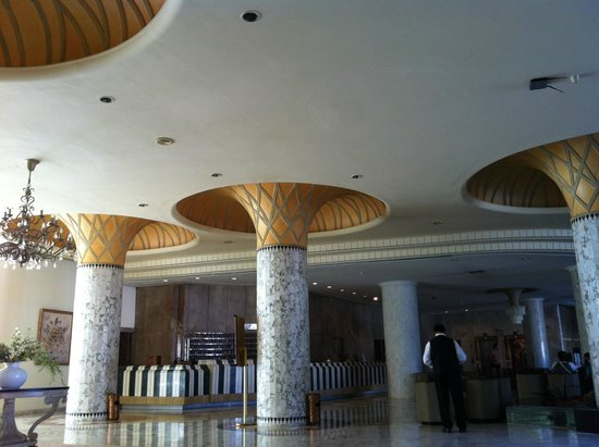 Tej Marhaba Hotel : Reception Area