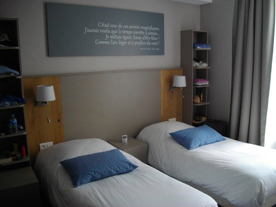 Hotel Le Carnot: Bedroom