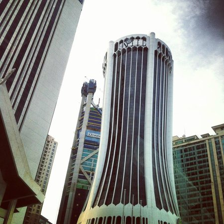Shangri-La Hotel Kuala Lumpur: view from pool