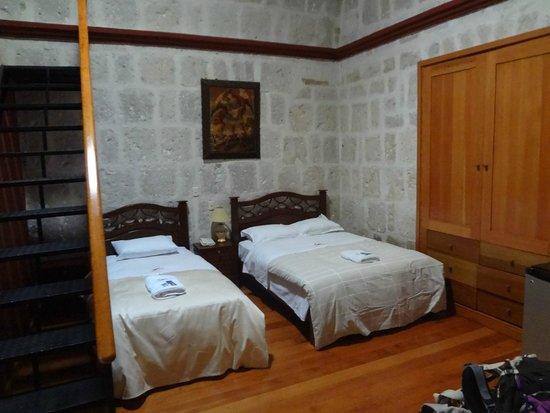 Hotel Casona Solar: Bed chamber