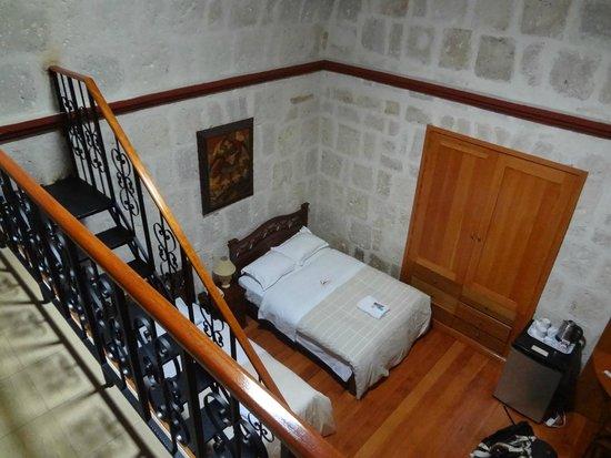 Hotel Casona Solar: View from upstares