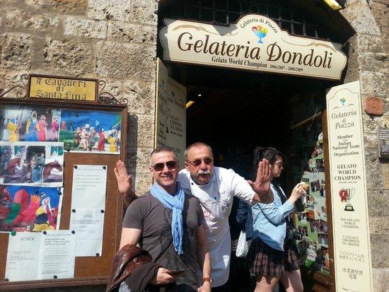 Gelateria Dondoli: Kral dondurmacı ve Ben