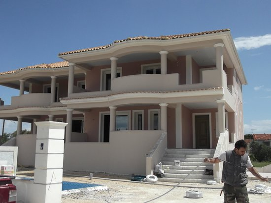 Planet Studios and Apartments: the new villas