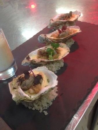 Le Bercail : Huîtres chaudes à la noisette
