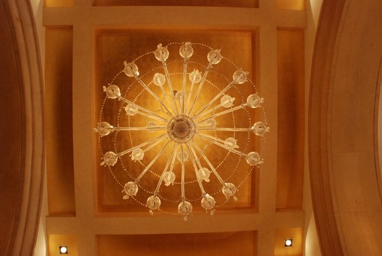 Raffles Beijing Hotel: Ceiling in the Hotel Lobby
