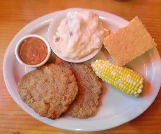 Smoke 'N Bones : Country-fried steak special.