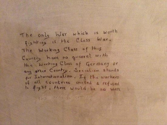 Richmond Castle: WW1 Graffiti