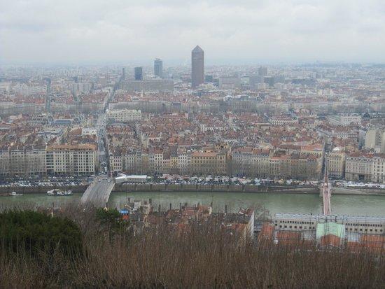Fourviere Hill: Vistas de Lyon desde la parte alta