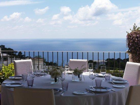 Capri Tiberio Palace : Terrazza Tiberio