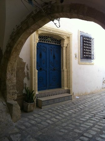 Medina of Sousse : Local house at the back of the Medina