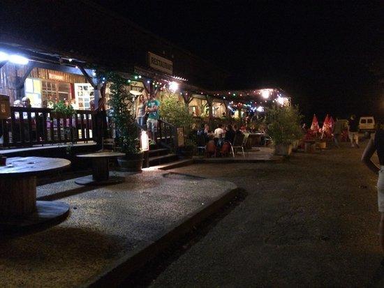 Restaurant du Lac : Terrasse