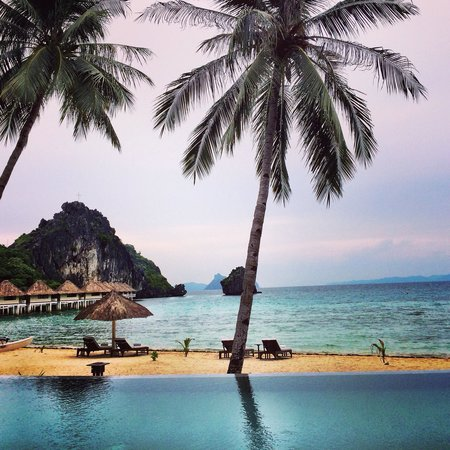 El Nido Resorts Apulit Island: Infinity pool