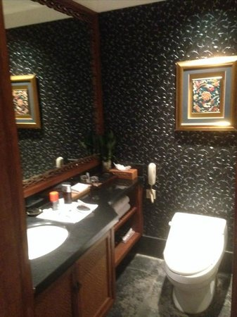 Auspicious Business Hotel: Auspicious Hotel Room Bathroom