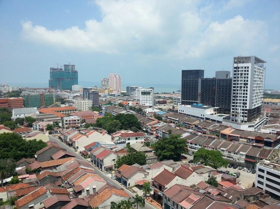 Hotel Equatorial Melaka: View from 14th Floor Hotel Room.