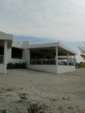 Hotel Riu Playa Blanca: Vista desde la Playa del Restaurante Chiriquí