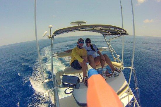 Cara Mia Fishing Charters: Enjoying The View!