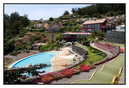 Village Cabo Girao: On aperçois notre appartement.