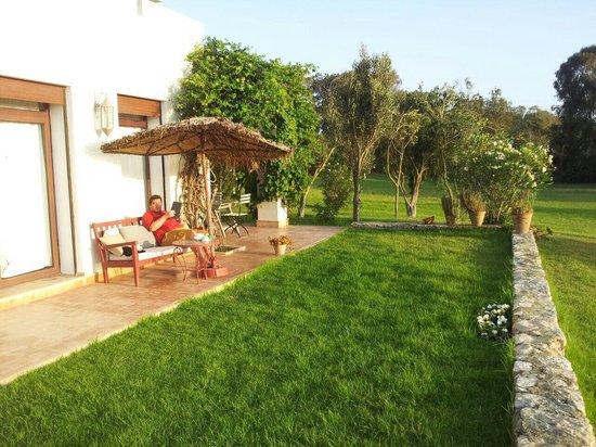 Dar Al Manar: Giardino