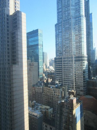 New York Hilton Midtown: View from the 25th Floor
