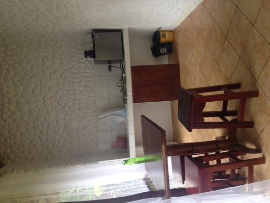 Villas Río Mar: Área de cocina