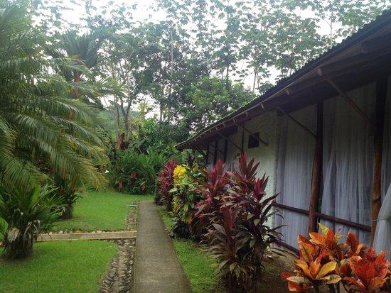 Villas Río Mar: Afuera de la habitación